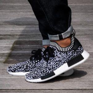 Men's Adidas NMD_R1 Primeknit Sneakers